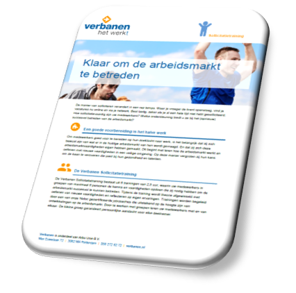 Download infobrochure Sollicitatietraining