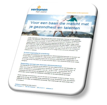 Download infobrochure Verbanen Outplacement en Reorganisatie